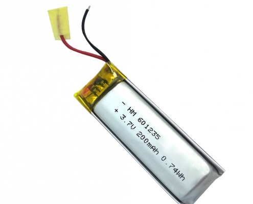 Li polymer 3.7V 200mAh