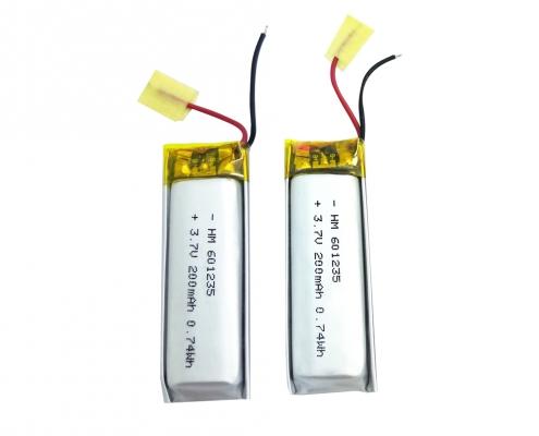 3.7V Li polymer
