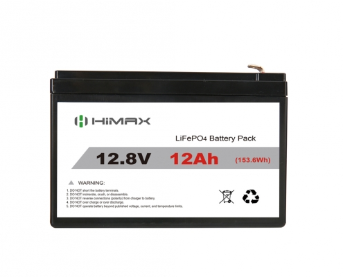 12V LiFePO4 battery 12Ah