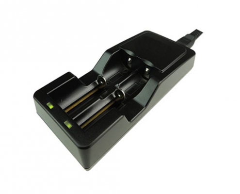 2 Slot Charger for Li-Ion 18650 Battery