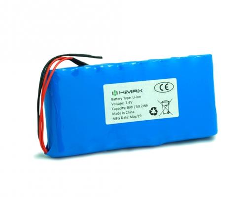 7.4v 8ah battery