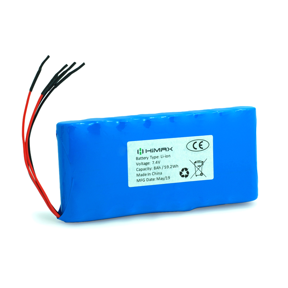 7.4v 8ah li-ion battery