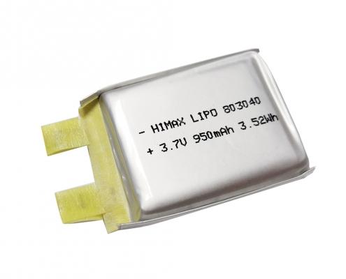 Li Polymer 3.7V 950mAh Battery