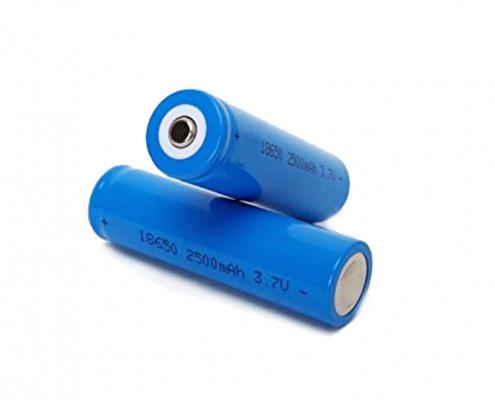 2500mah 18650 battery