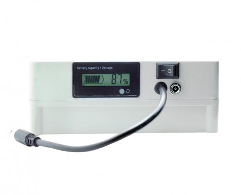 12V 50Ah Battery with LED