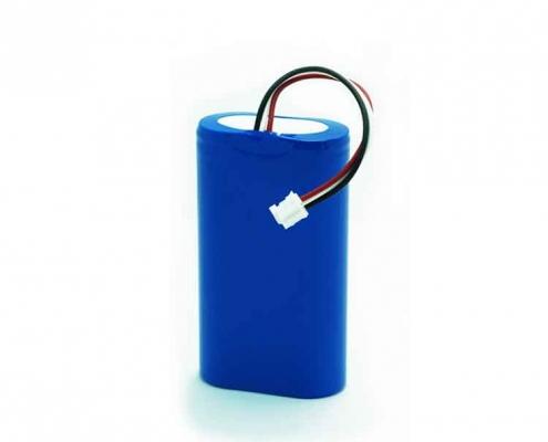 18650 7.4v 2s1p 2600mah li ion lithium kc