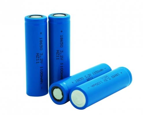 18500 3.7v 1100mah battery