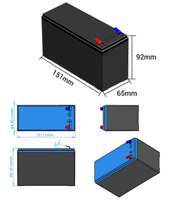 12V-7Ah Lithium Battery