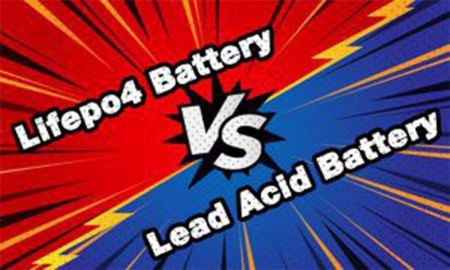 LiFePO4 Battery VS Lead-acid Battery