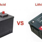 Lithium Vs. Lead-Acid