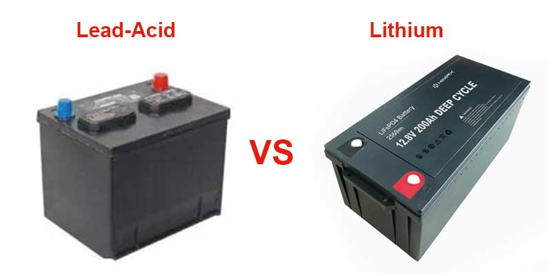 Lithium Vs. Lead-Acid