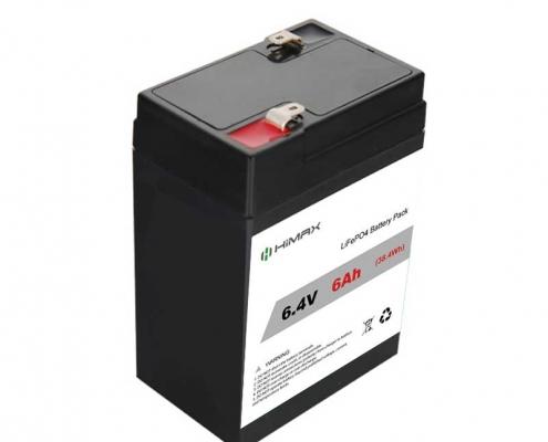 6.4v 6ah Lifepo4 Battery