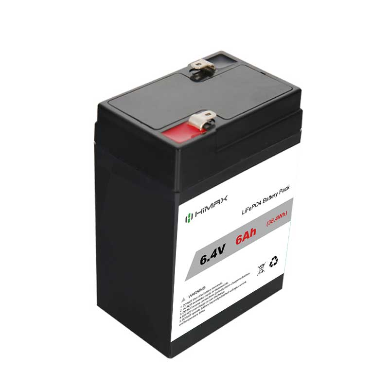 6.4v 6ah Lifepo4 Battery