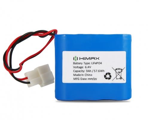lifepo4-6.4v-9ah Battery