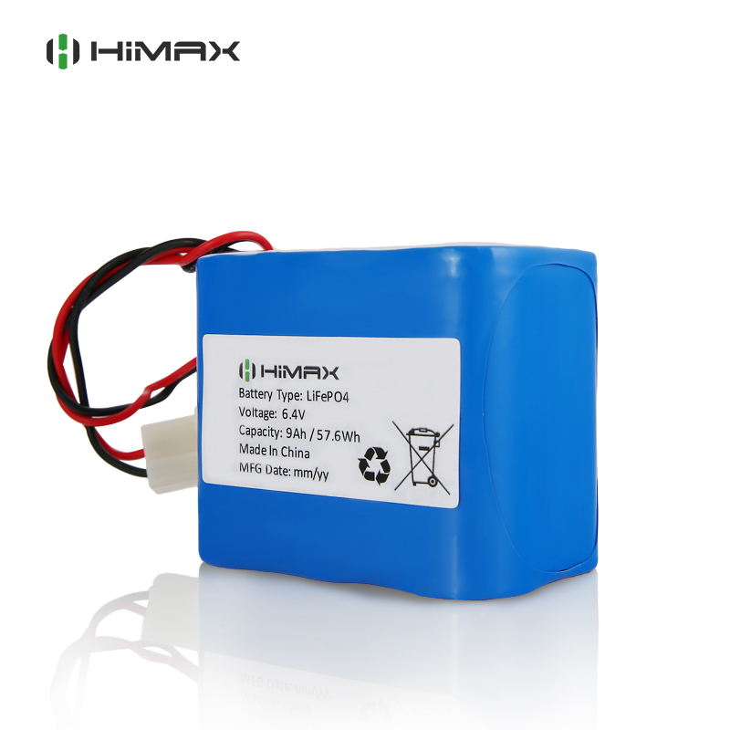Rechargeable Lifepo4-6.4v-9ah