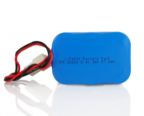 2S LiFePO4 Battery Pack