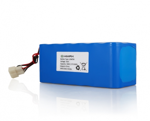 9.6v 18Ah Lifepo4 Battery