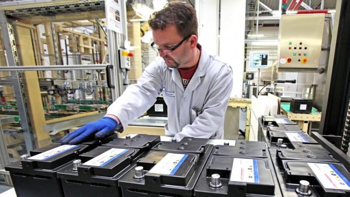 Batteries in Industries